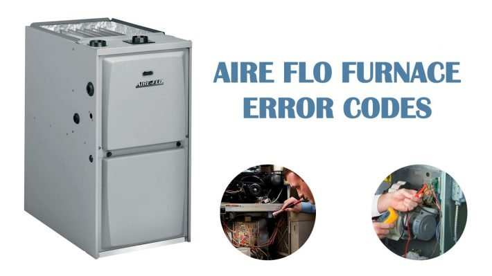 Aire flo furnace error codes