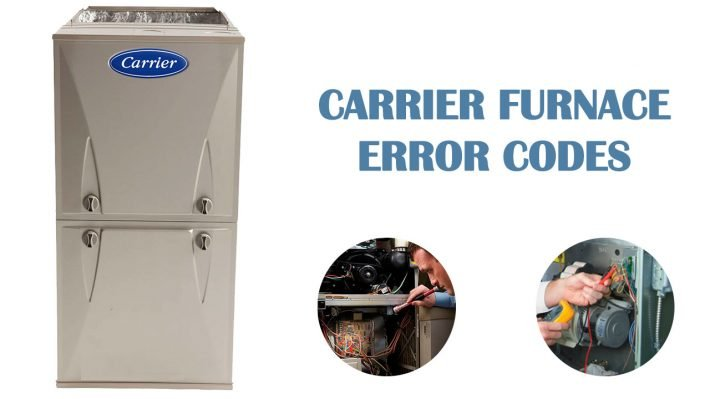 Carrier furnace error codes