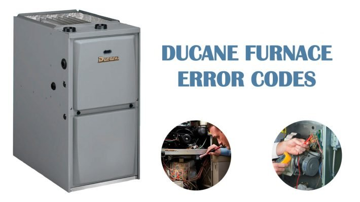 Ducane Furnace Error Codes