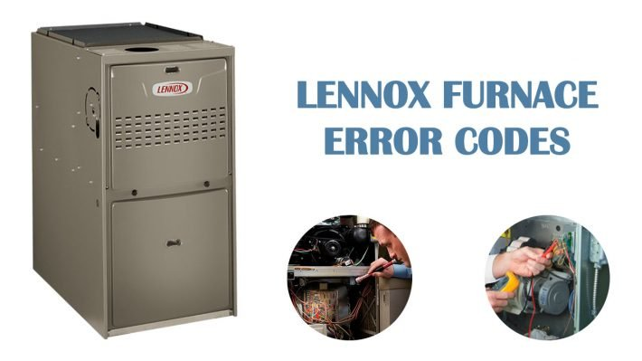 Lennox furnace error codes