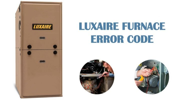 Luxaire furnace error codes