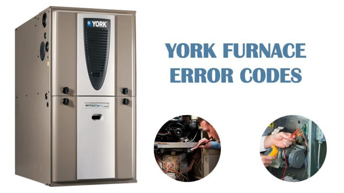 York furnace error codes